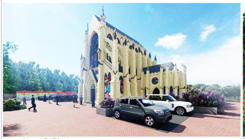 Construction of St. Celestine Chapel